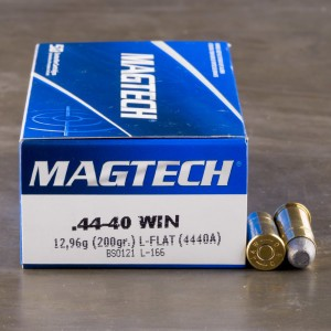 50rds - 44-40 Win. Magtech 200gr. Lead Flat Nose Ammo