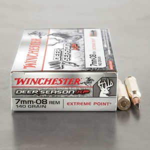 20rds – 7mm-08 Winchester Deer Season XP 140gr. Extreme Point Polymer Tip Ammo