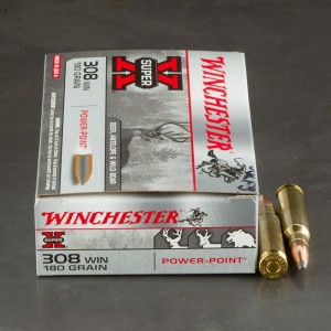 200rds - 308 180gr. Winchester Super-X Power Point Ammo