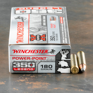 20rds – 350 Legend Winchester Super-X 180gr. Power Point Ammo