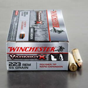 20rds - 223 Winchester Varmint-X 55gr. Polymer Tip Ammo