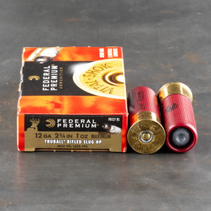 "250rds - 12 Gauge Federal Vital-Shok 2 3/4"" 1oz. Truball Slug Ammo"