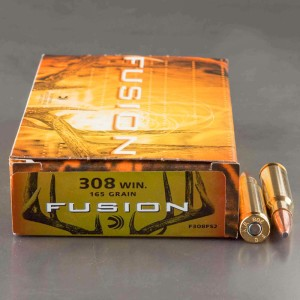 20rds - 308 Federal Fusion 165gr. SP Ammo