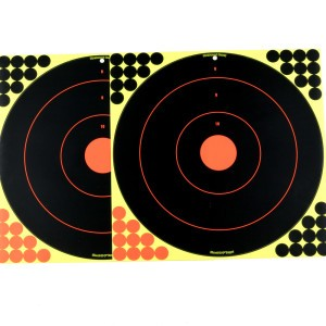 "1 - Birchwood Casey Shoot N C Target 17.25"" Bullseye 5 Pack"