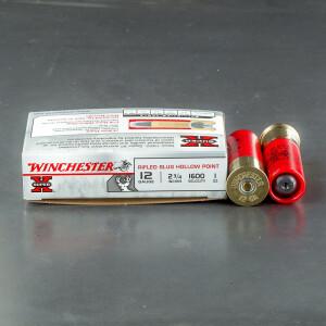 """5rds - 12 Gauge Winchester Super-X  2 3/4"""" 1oz. Rifled Slug Ammo"""