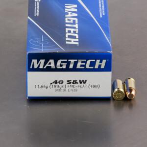 1000rds - 40 S&W MAGTECH 180gr. FMJ Ammo