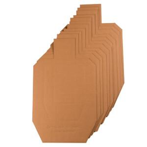 100 - Target Barn USPSA/IPSC Metric Silhouette Cardboard Targets