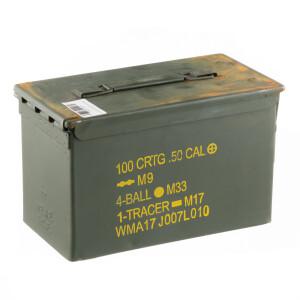 1 - Military Surplus 50cal. Ammo Can - Fair Condition M2A1