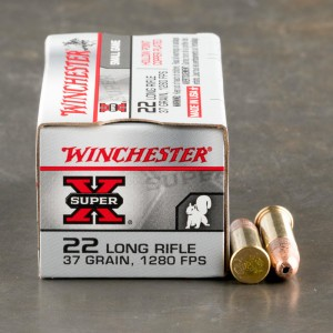 500rds - 22LR Winchester 37gr. High Velocity Hollow Point Ammo