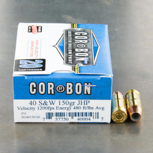 Corbon Ammo - Pow'RBall and More Rounds for Sale