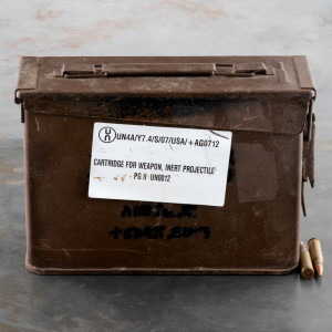 280rds – 7.62x51mm Ethiopian Military Surplus 145gr. FMJ Ammo in 30 Cal Ammo Can