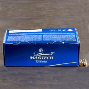 250rds - 9mm Luger Magtech 115gr. FMJ Ammo Value Pack