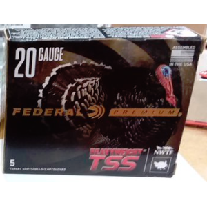 "5rds – 20 Gauge Federal Heavyweight-TSS 3"" 1-5/8oz. #7/9 Shot Ammo"