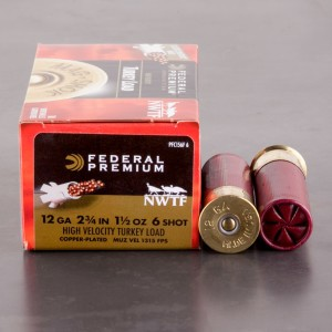 "10rds - 12 Gauge Federal Mag-Shok 2 3/4"" 1-1/2oz. #6 Turkey Load"