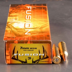 20rds - 7mm WSM Federal Fusion 150gr. SP Ammo