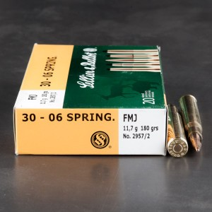 400rds - 30-06 Sellier & Bellot 180gr. FMJ Ammo