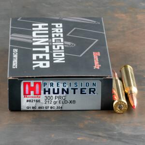 20rds – 300 PRC Hornady Precision Hunter 225gr. ELD-X Ammo