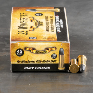 500rds - 22 Winchester Automatic Aguila 45gr. Lead Nose Ammo