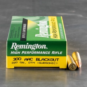 200rds - .300 AAC BLACKOUT Remington 220gr. OTM Subsonic Ammo