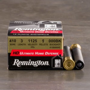 "150rds – 410 Bore Remington Ultimate Home Defense 3"" 000 Buckhot Ammo"