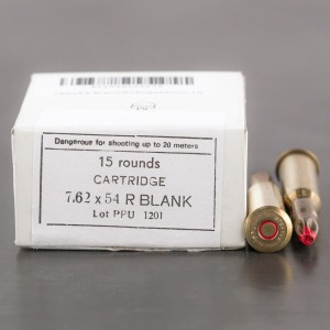 15rds – 7.62x54R Prvi Partizan Extended Case Blanks