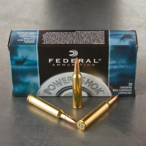 20rds - 7mm Rem Mag Federal Power-Shok 150gr. Soft Point Ammo