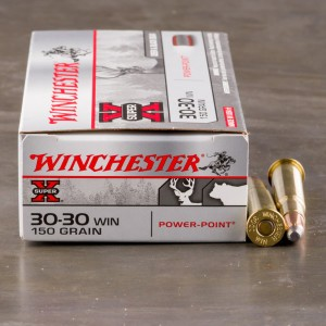 20rds - 30-30 Winchester Super-X 150gr. Power Point Ammo