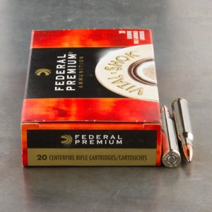 20rds - 280 Rem Federal Vital-Shok 150gr. Nosler Partition SP Ammo