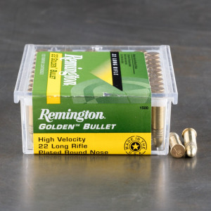 5000rds – 22 LR Remington Golden Bullet 40gr. CPRN Ammo