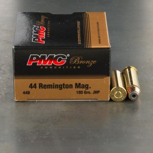 25rds - 44 Mag PMC 180gr. Hollow Point Ammo