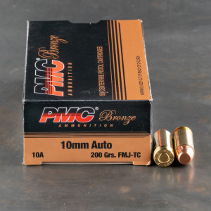 1000rds - 10mm Auto PMC 200gr. FMJ Ammo