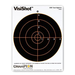1 - Champion VisiShot 100yd. Sight-in Target 10 Pack