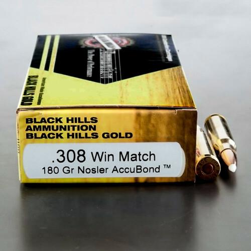 Black Hills 308 Nosler Accubond