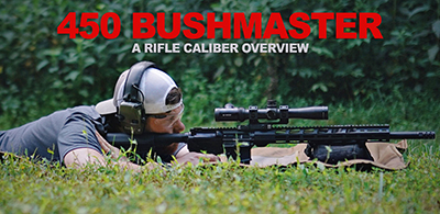shooting 450 bushmaster at the range